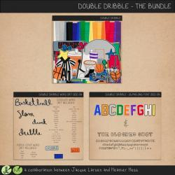 double dribble bundle by jacque larsen and heather hess