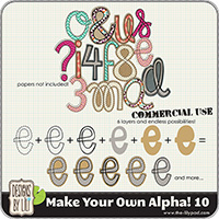 Make Your Own Alpha! 10 {CU}