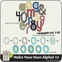 Make Your Own Alpha! 11 {CU}