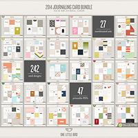 2014 Journaling Card Bundle