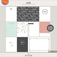 Agenda Journaling Cards
