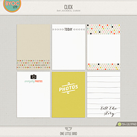 Click Journaling Cards