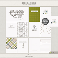 High Street Stories Journaling Cards