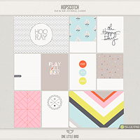 Hopscotch Journaling Cards