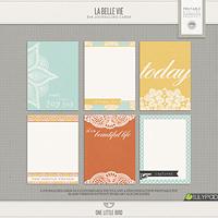 La Belle Vie Printable Journaling Cards