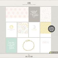 Luna Journaling Cards
