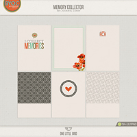 Memory Collector Journaling Cards