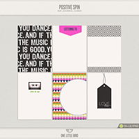Positive Spin Journaling Cards