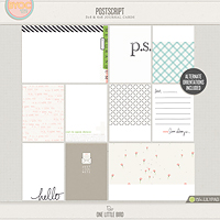 Postscript Journaling Cards