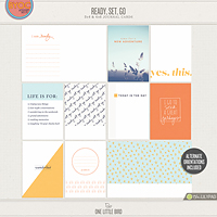 Ready Set Go Journaling Cards
