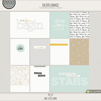 Silver Linings Journaling Cards