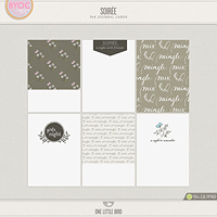 Soiree Journaling Cards
