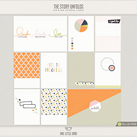 The Story Unfolds Journaling Cards