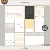 Sugarcoated Journaling Cards