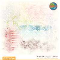 Winter Love Stamps