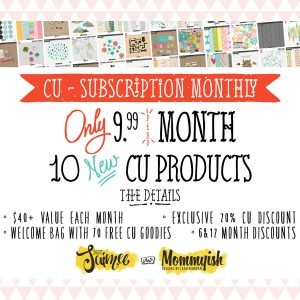 commercial use cu subscription monthly