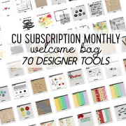 CU Subscription Monthly Welcome Bag