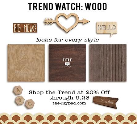 Trend Watch – Wood