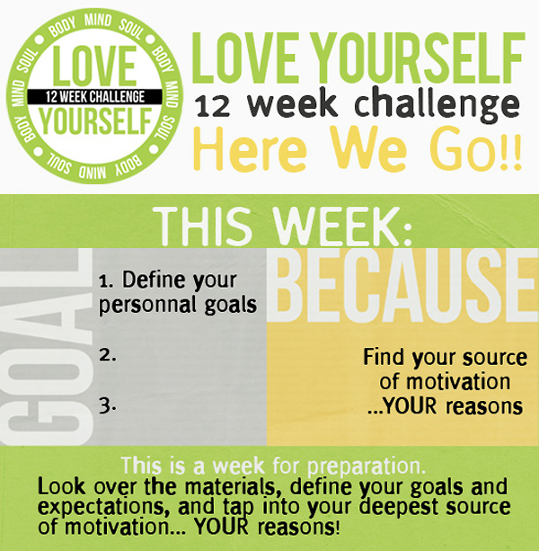 LOVE YOURSELF Challenge – It's On!