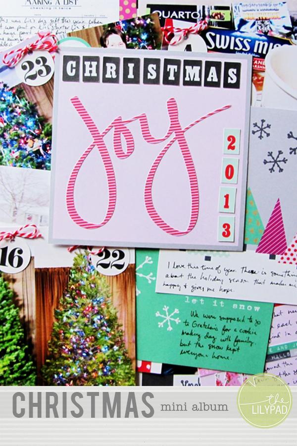 blog header christmas mini album