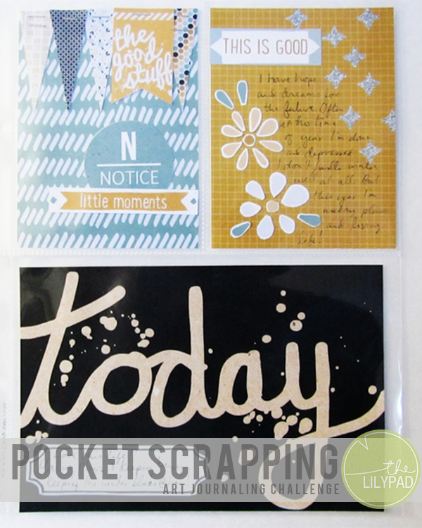 Pocket Scrapping Art Journal Challenge – Announcing a New Format and February Sponsor