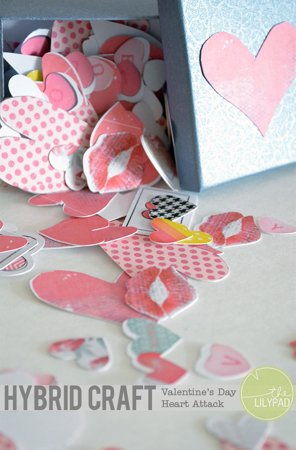 Hybrid Valentine Craft – Heart Attack