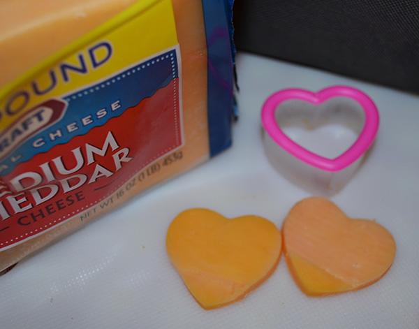 Valentine Lunchbox - cheese
