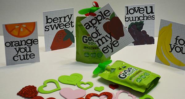 Valentine Lunchbox - fruit