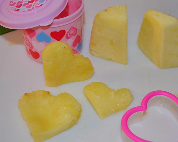Valentine Lunchbox - pineapple