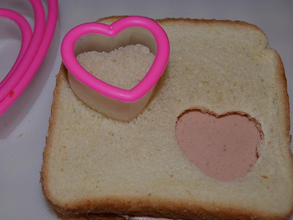 Valentine Lunchbox - sandwich