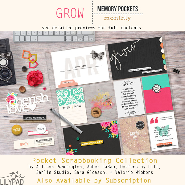 Memory Pockets Monthly April: Grow!