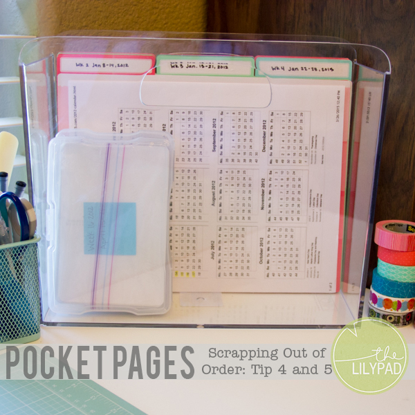 Pocket Scrapping Out of Order: Tip 4 & 5