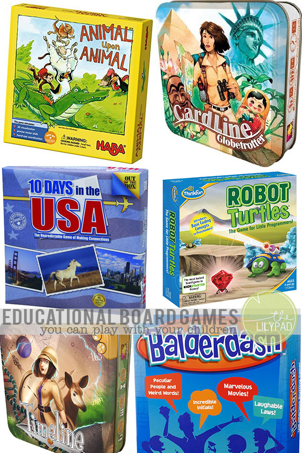Educational Board Games You Can Play With Your Children