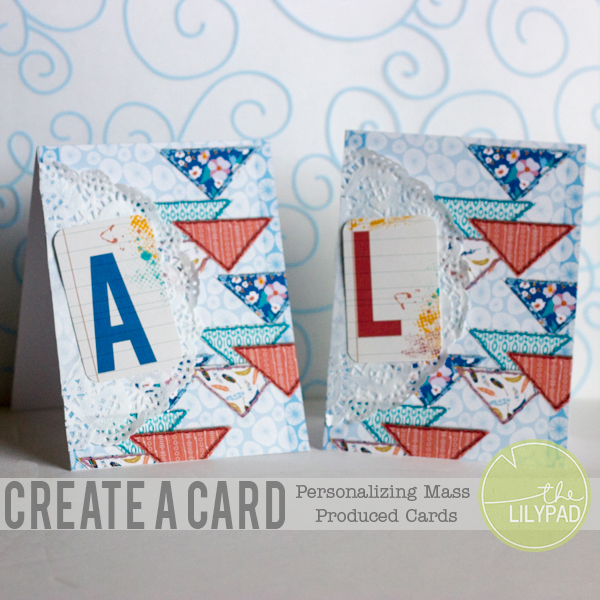 Create a Card: Personalizing Cards