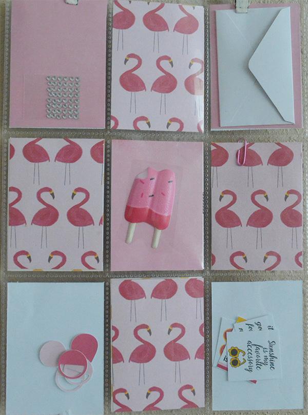 hybrid pocket letter flamingo