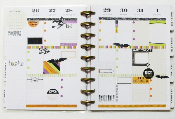 planner pages oct 26 - nov 1