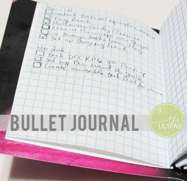 TLP blog header bullet journal
