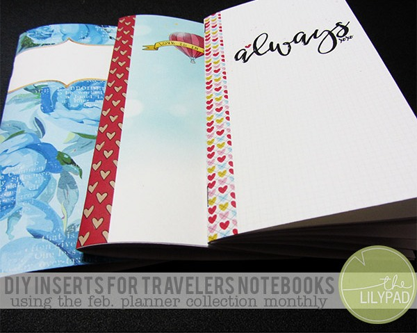 DIY Inserts for Travelers Notebooks
