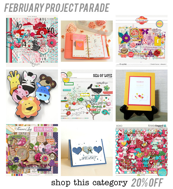 February Project Parade Challenge