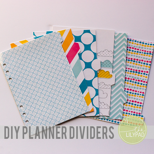 Diy planner dividers for Make a planner free