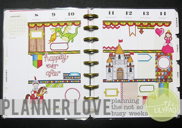 Planner Love: Planning the Not so Busy Weeks
