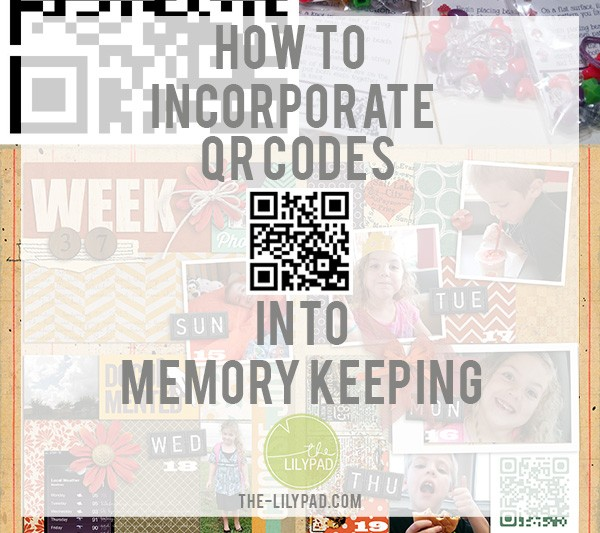 How to Incorporate QR Codes Into Memory Keeping