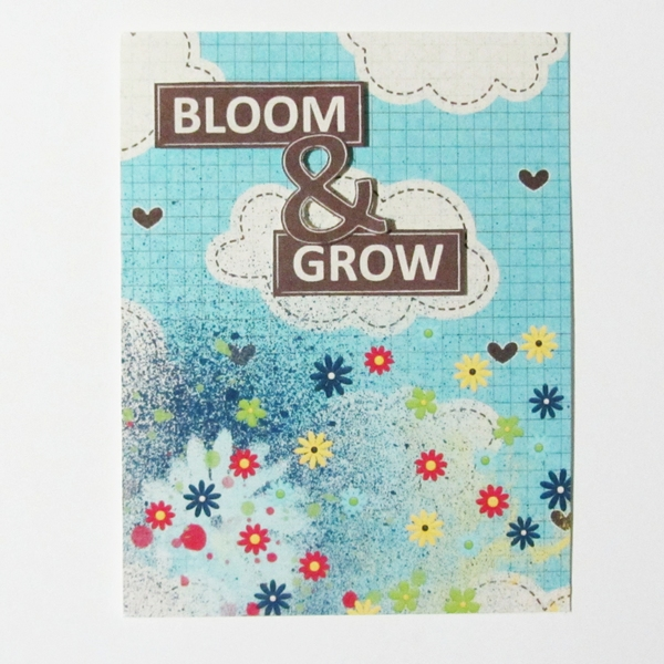 bloom and grow card