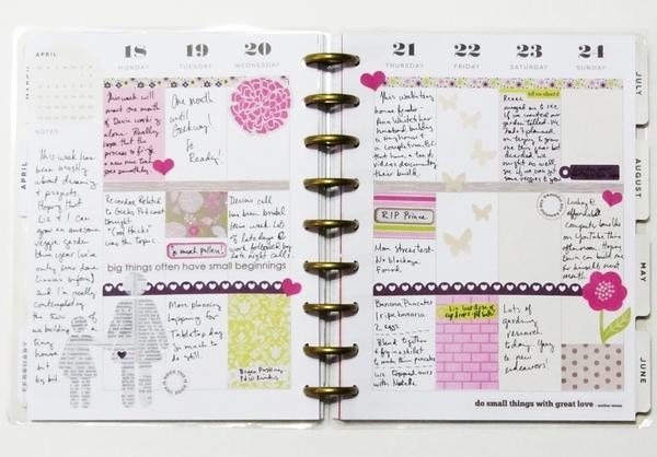Memory Planner April 18-24