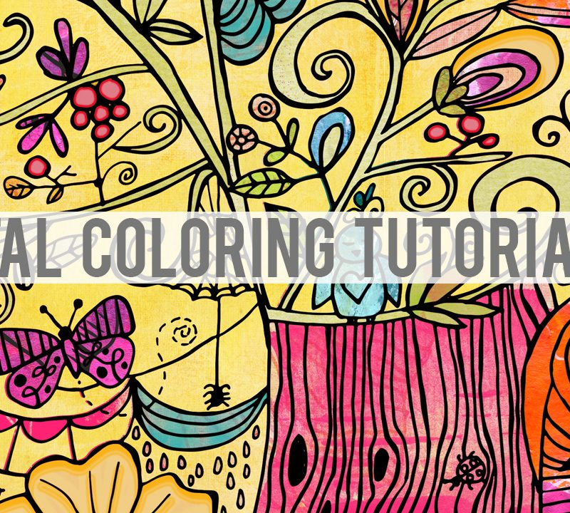 Digital Coloring Video Tutorial