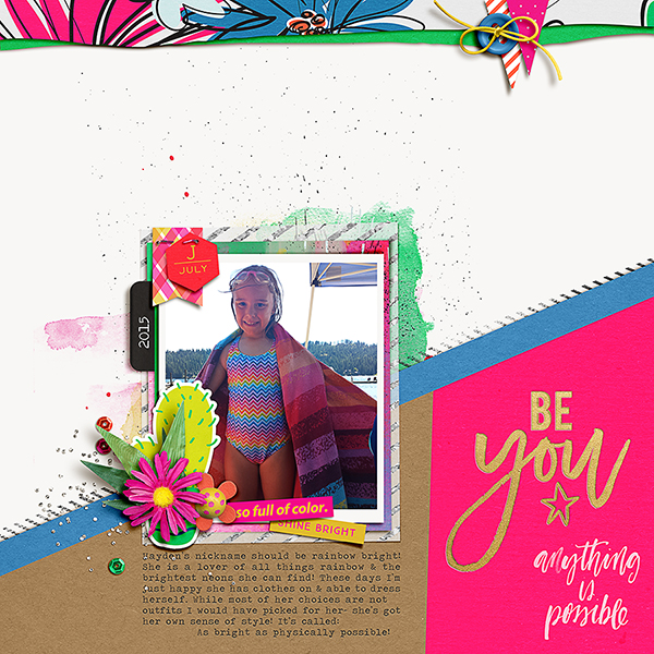 Be You by Amien1 at the Lilypad using products from the July 2016 MPM collection BOLD