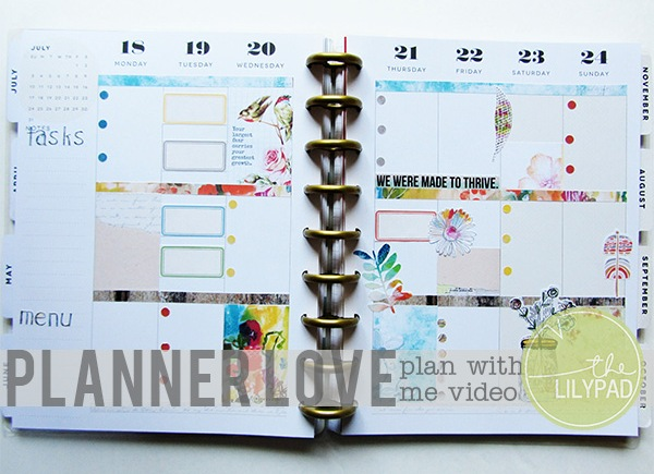 Planner Love: Plan with Me Video