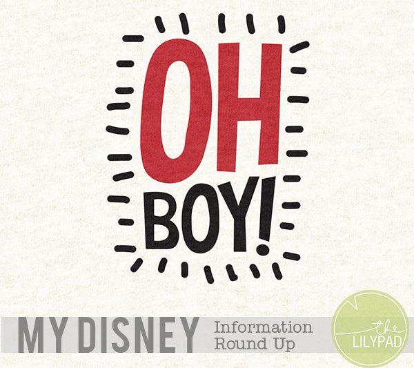 My Disney Information Round Up