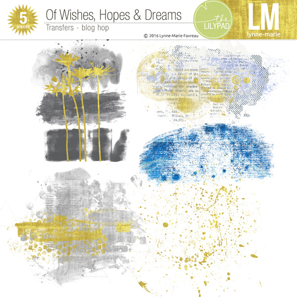 FREEBIE Blog Hop: Of Wishes, Hopes and Dreams by The Lilypad Designers