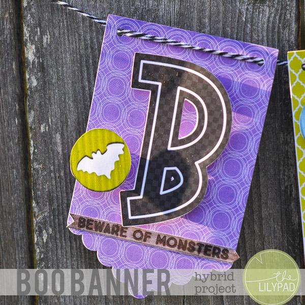 Hybrid Boo Banner with Bella Gypsy Designs